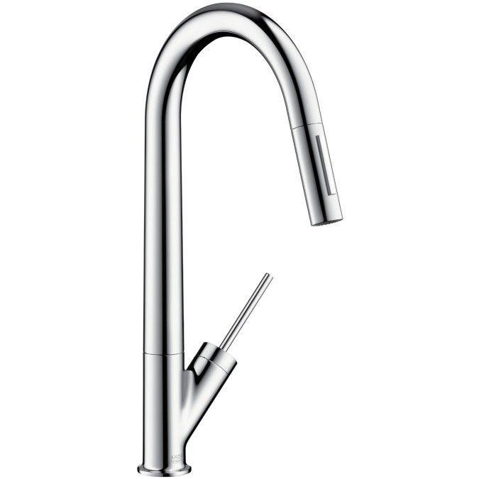 Axor Starck Single Handle Deck Mounted Kitchen Faucet Keuken - grohe concetto küchenarmatur
