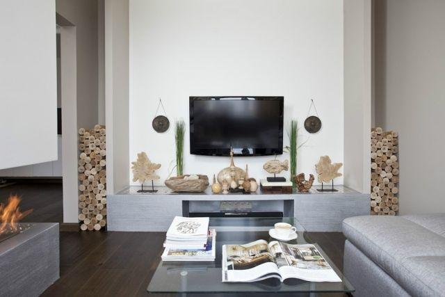 wohnzimmer einrichten grau schwarz | wohnzimmer ideen - Moderne Wohnzimmer Bilder