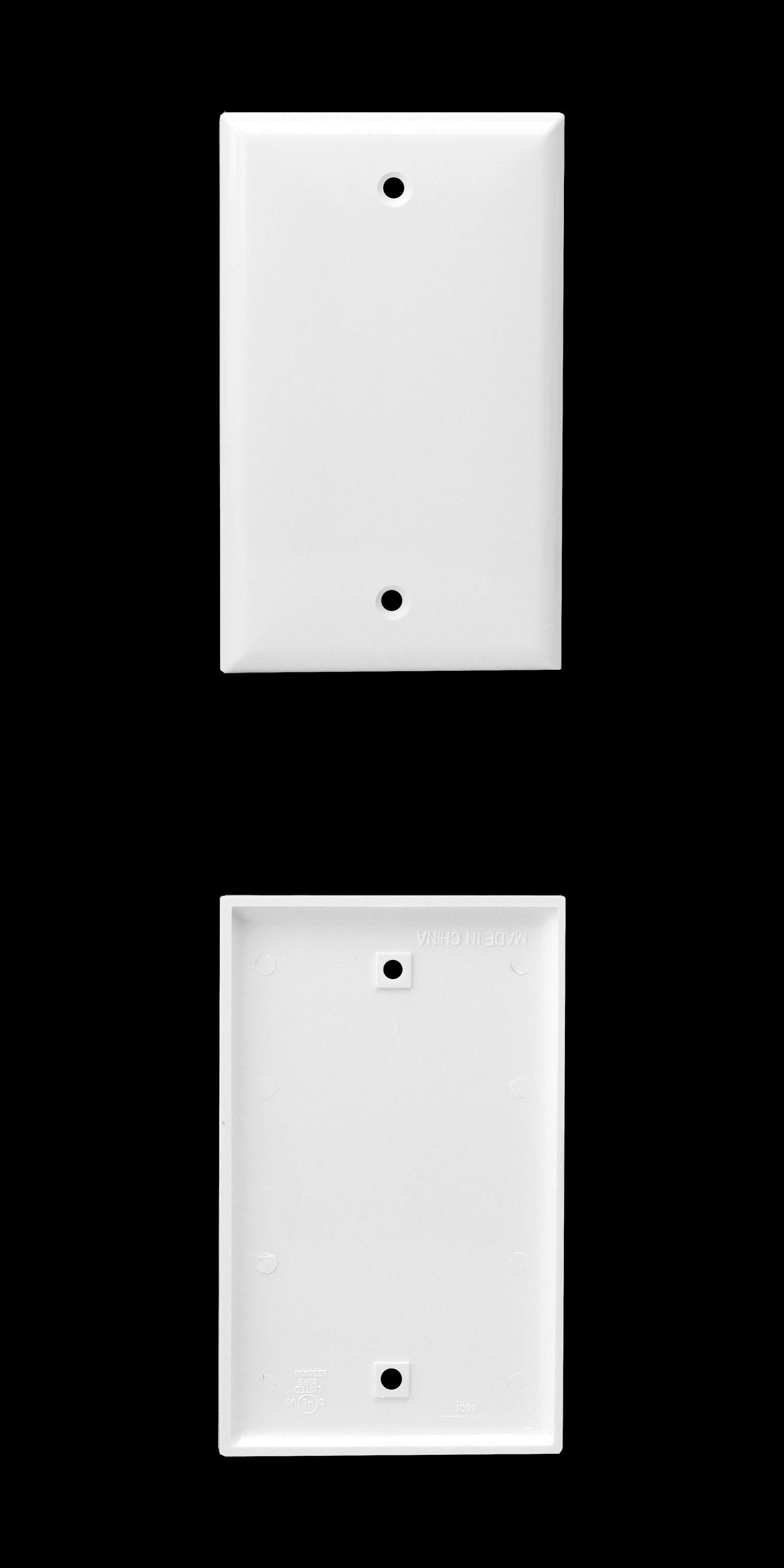 Where To Buy Switch Plate Covers Switch Plates And Outlet Covers 43412 100Pc Blank Single Outlet