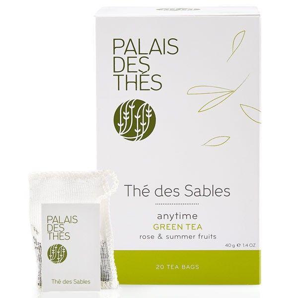 THÉ DES SABLES green tea