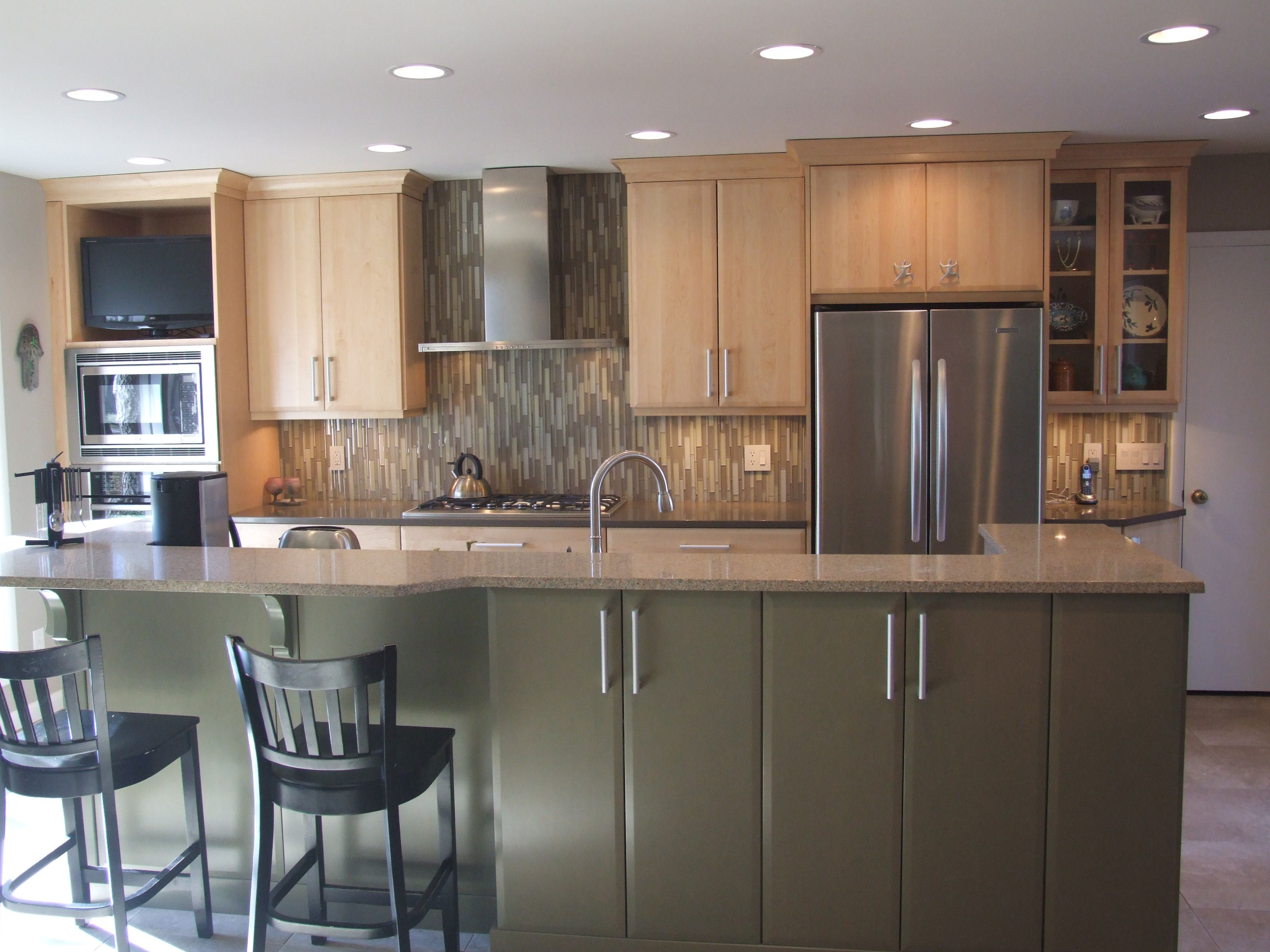 This design features earth tones for a softer take on a ...