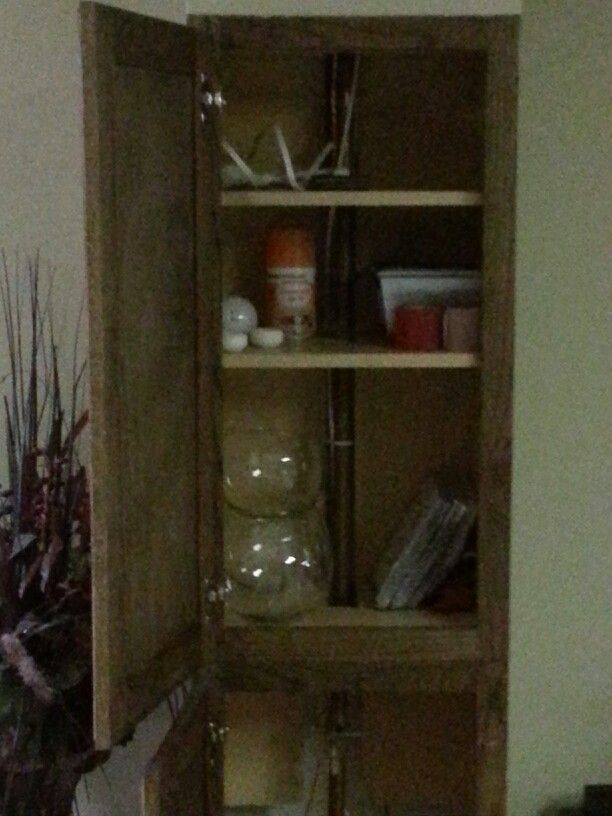 Box in your basement waterpipes with a cabinet to not only hide ...