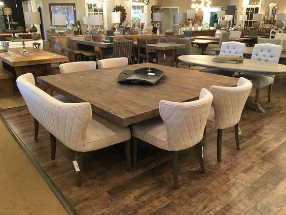 10 Superb Square Dining Table Ideas For A Contemporary: 10 Most-Wanted Square Dining Tables