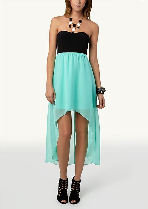 806658e2d6e Flocked Lace Bustier Dress