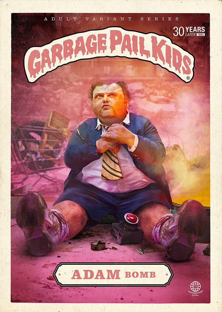 Garbage Pail Kids As Real Life Adults 30 Years Later Garbage Pail Kids Garbage Pail Kids Cards Poster Design Kids