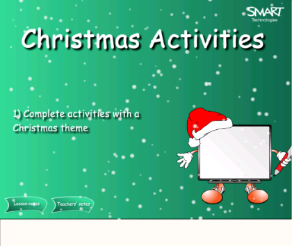 Christmas Activities - Students complete word searches, crossword ...