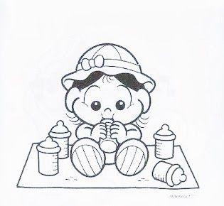 Magali Baby Em 2020 Desenhos Fofos Para Colorir Desenho Turma