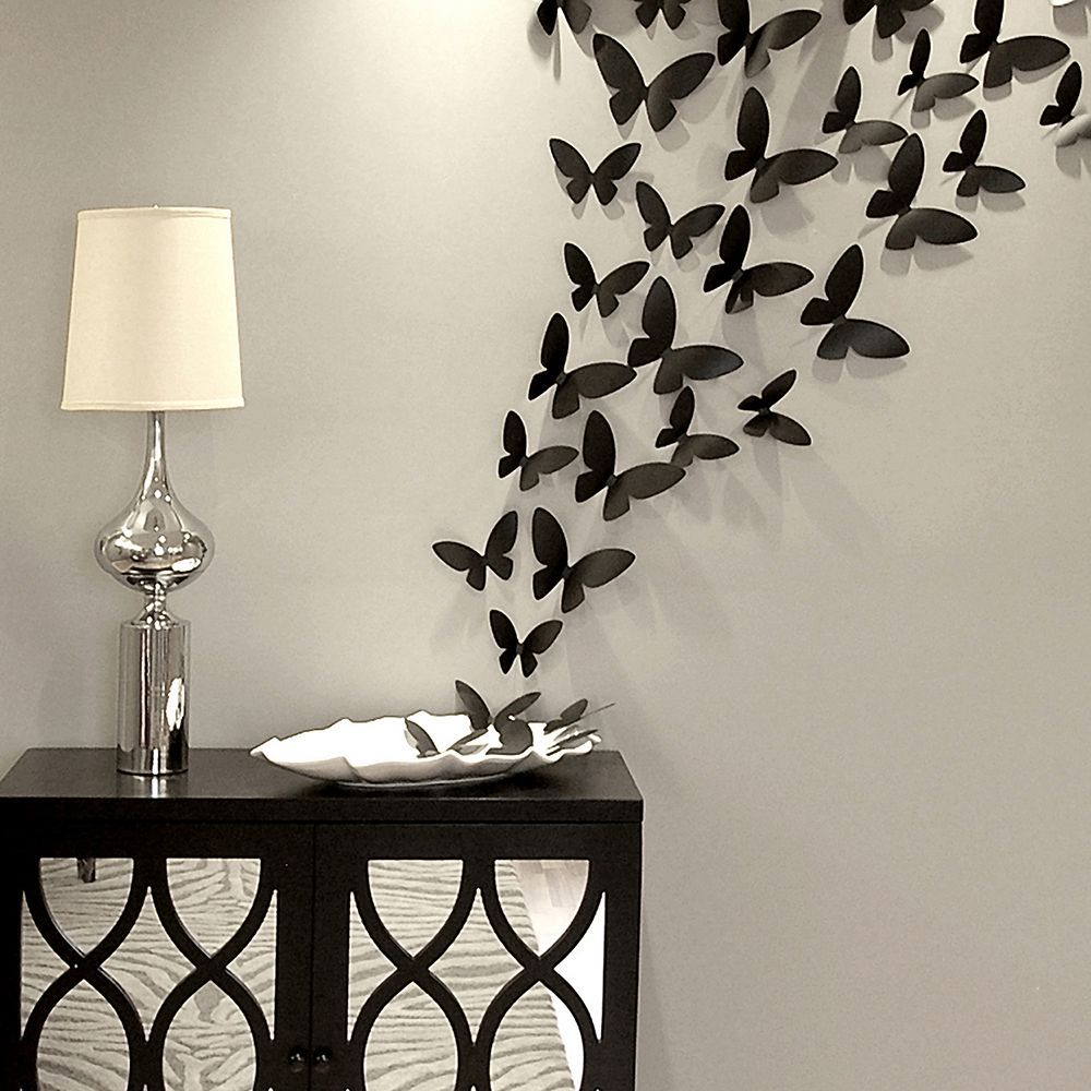 Decor Soars From Shelf To Wall With These Butterfly Wall Accents