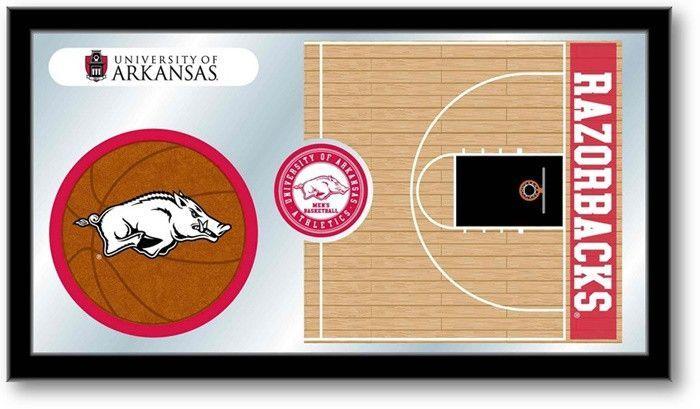 Arkansas Razorbacks Basketball Team Sports Mirror. Visit SportsFansPlus.com for details.