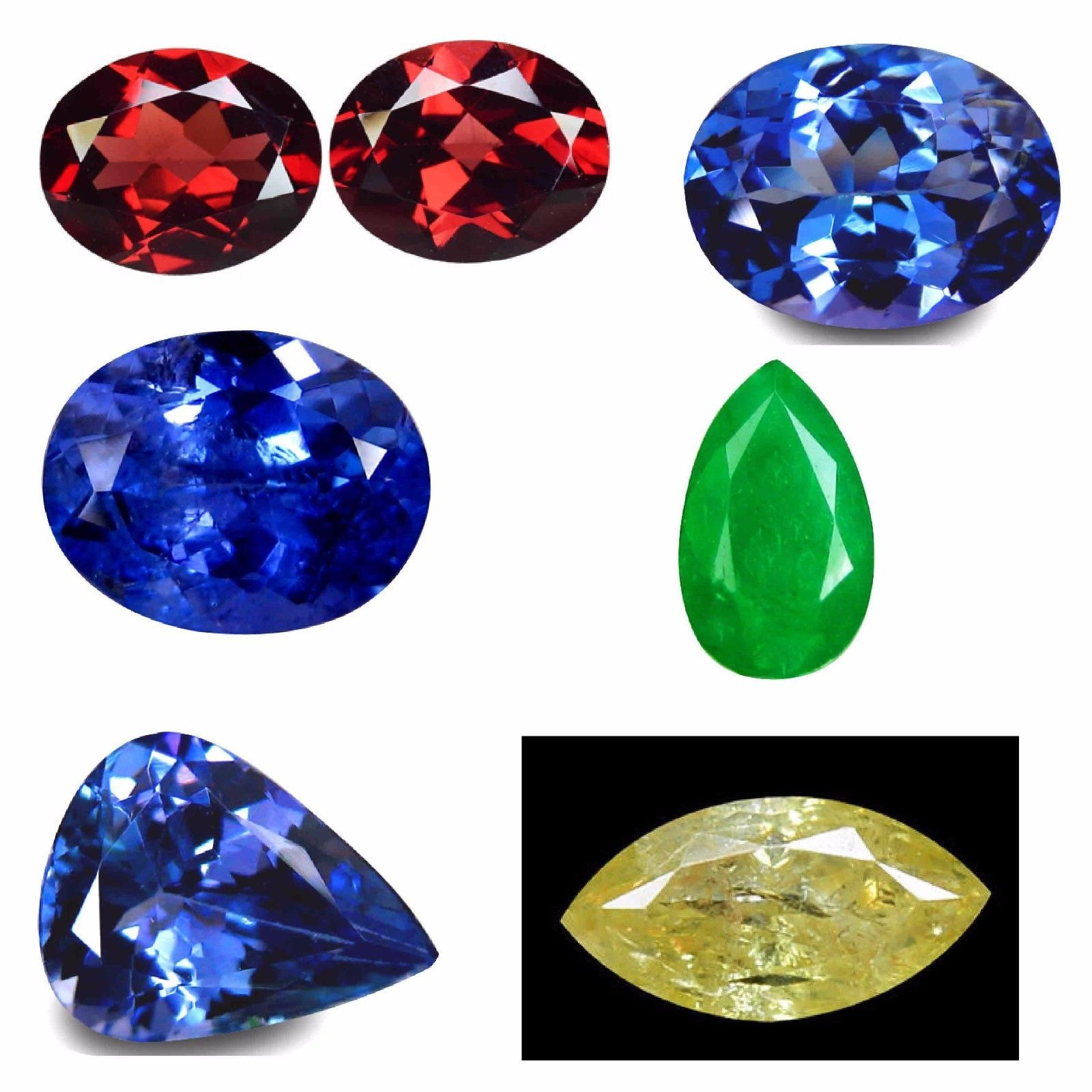 Other Loose Gemstones 282: Multiple – Various Natural Earth Mined Gemstones, Wholesale Lot -> BUY IT NOW ONLY: $250 on eBay!