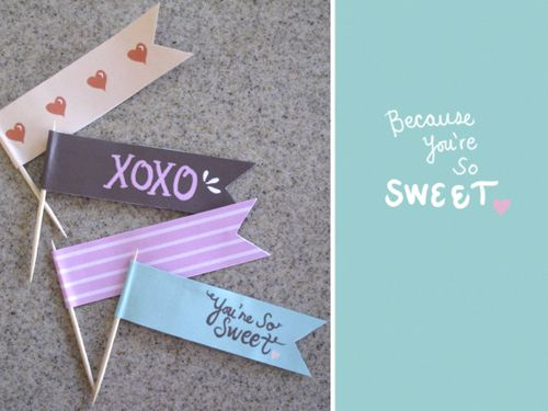 Free Valentine's Day DIY Printables.