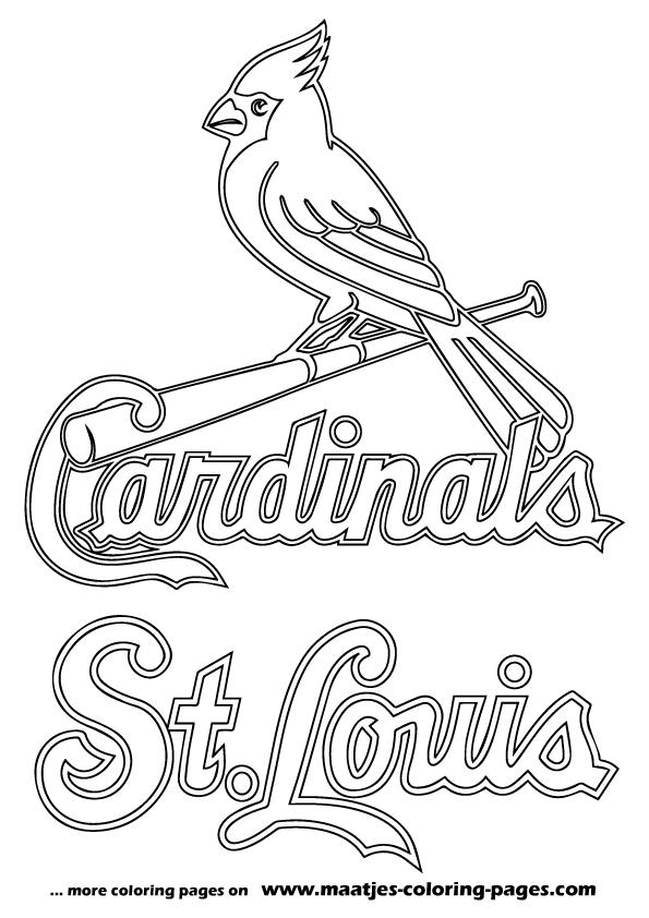 Awesome St Louis Cardinals Home Page On Louis Cardinals Coloring Pages Search More M St Louis Cardinals Baseball Baseball Coloring Pages Stl Cardinals Baseball