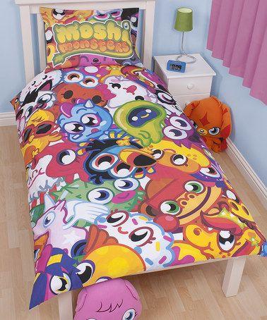 Moshi Monsters Moshlings Single Panel Duvet Set By