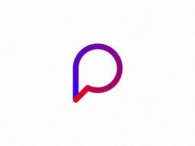 Inspirational Logo Design Series Letter P Designs
