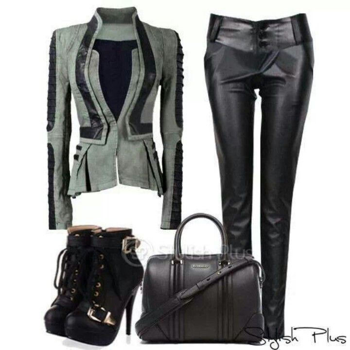 Edgy winter outfit. | Outfit Ideas | Pinterest | Winter ...