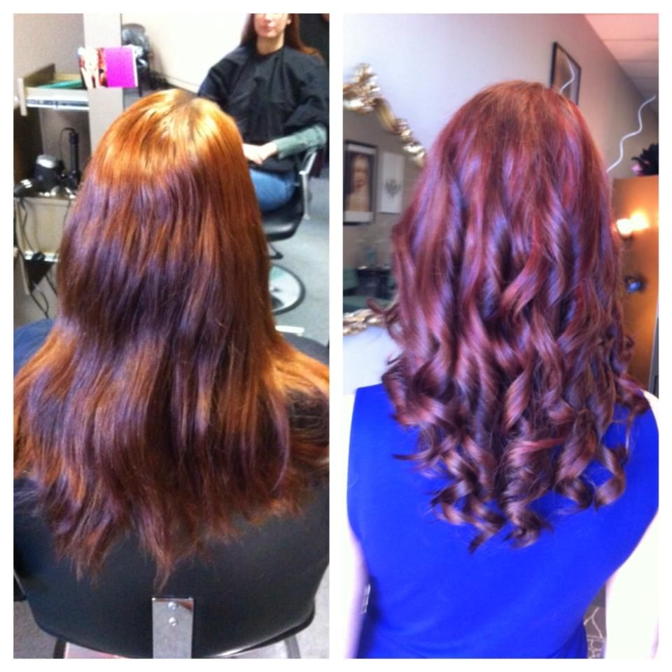 Full color and partial foil  by Chelsea Call for your appointment