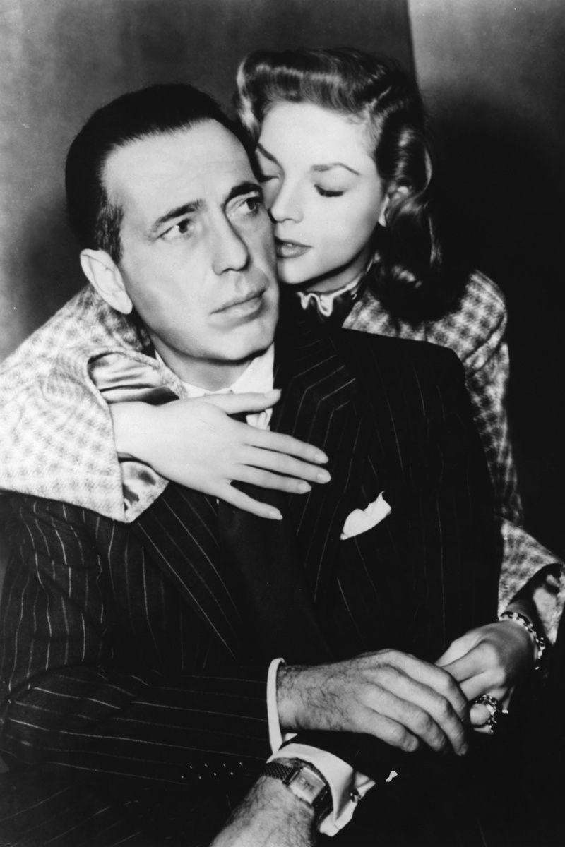 Parejas iconicas de la historia para celebrar San Valentin: Lauren Bacall y Humphrey Bogart
