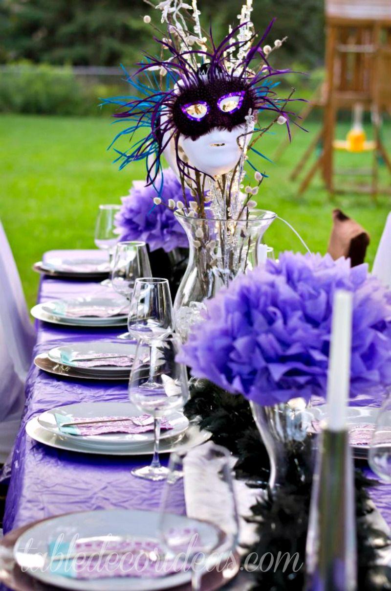 Elegant Table Decor Idea- Dinner Party
