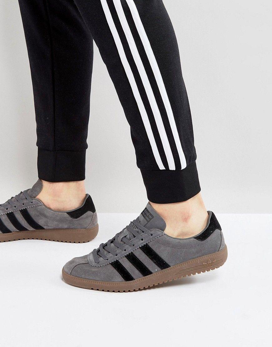 ADIDAS ORIGINALS BERMUDA SUEDE SNEAKERS IN GRAY BY9657 - GRAY.   adidasoriginals  shoes   9241533da