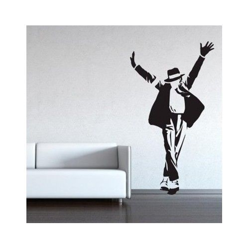 Michael Jackson Dancing Decal Life Size Wall Sticker For Any Room In The  Home Part 34