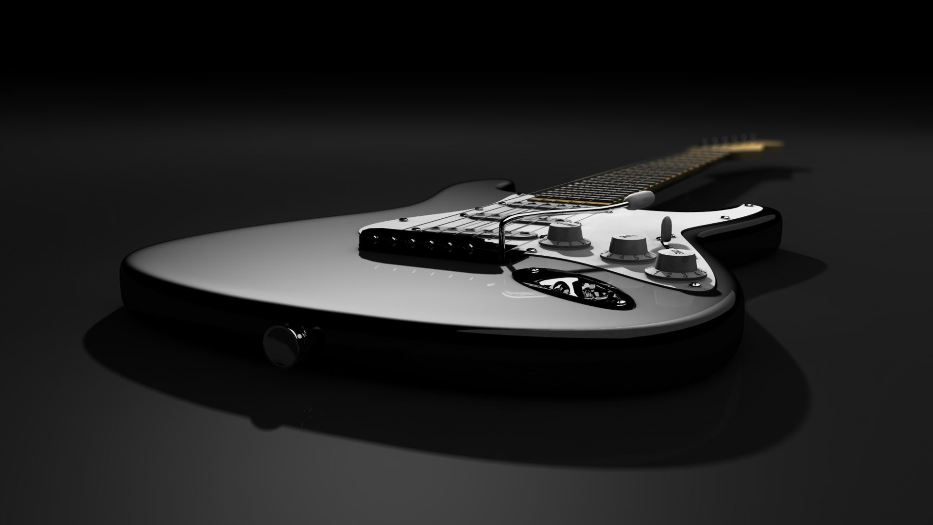 Fender Guitars Stratocaster Fresh New Hd Black And White Wallpaper