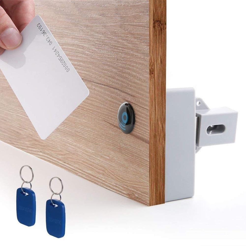 Bestgobest Rfid Electronic Cabinet Lock Hidden Diy For Drawer Cabinet Ebay Link Cabinet Locks Diy Cabinet Doors Electronic Lock