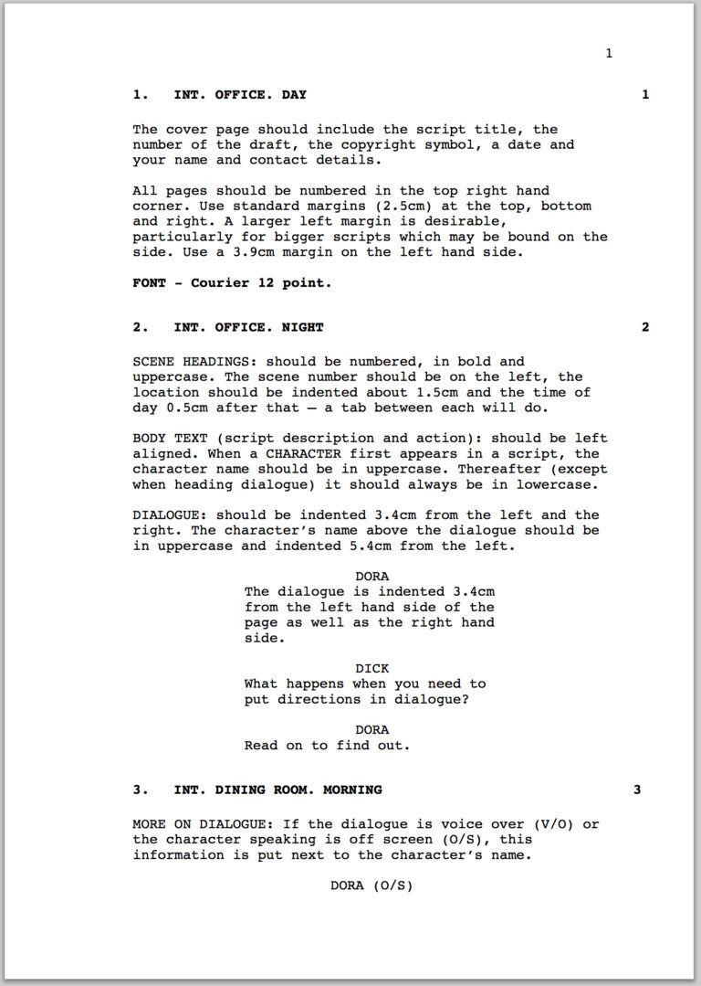 film student resume template