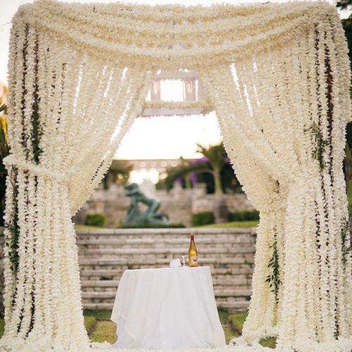 Jardines para bodas al aire libre y su decoraci n - Elementos decorativos para jardin ...