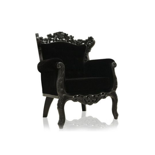 Best Royal Armchair Black Velvet Dream House In 2019 400 x 300
