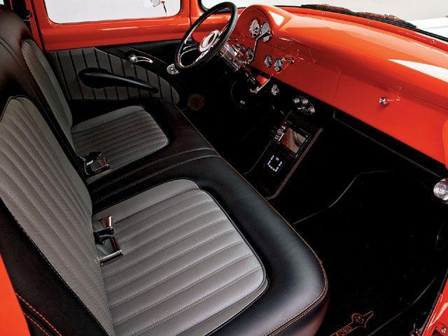 Brodie Stroud Custom Ford F100 Interior Pick Up