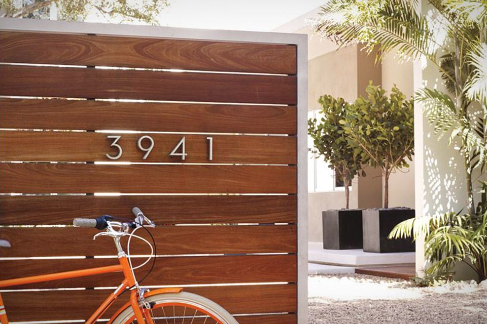 Neutraface House Numbers