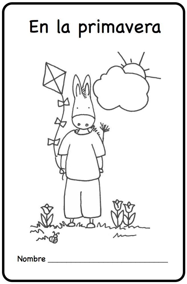 En la primavera Spring Printable Spanish Minibook
