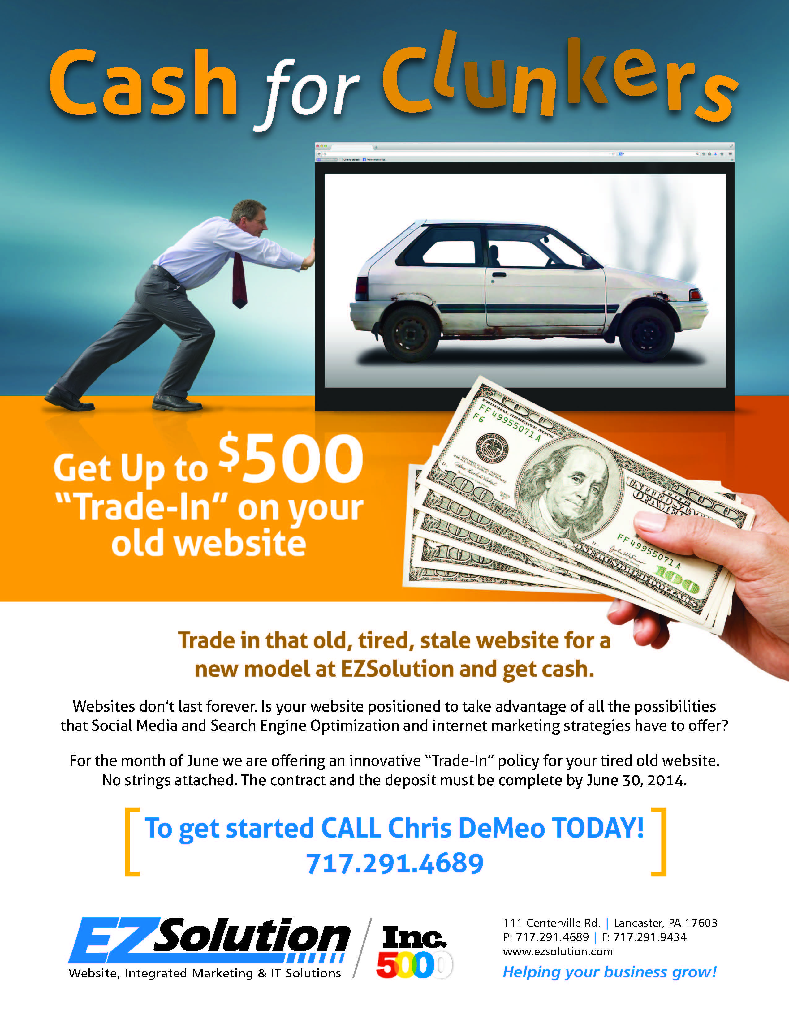 Get Up to $500 \