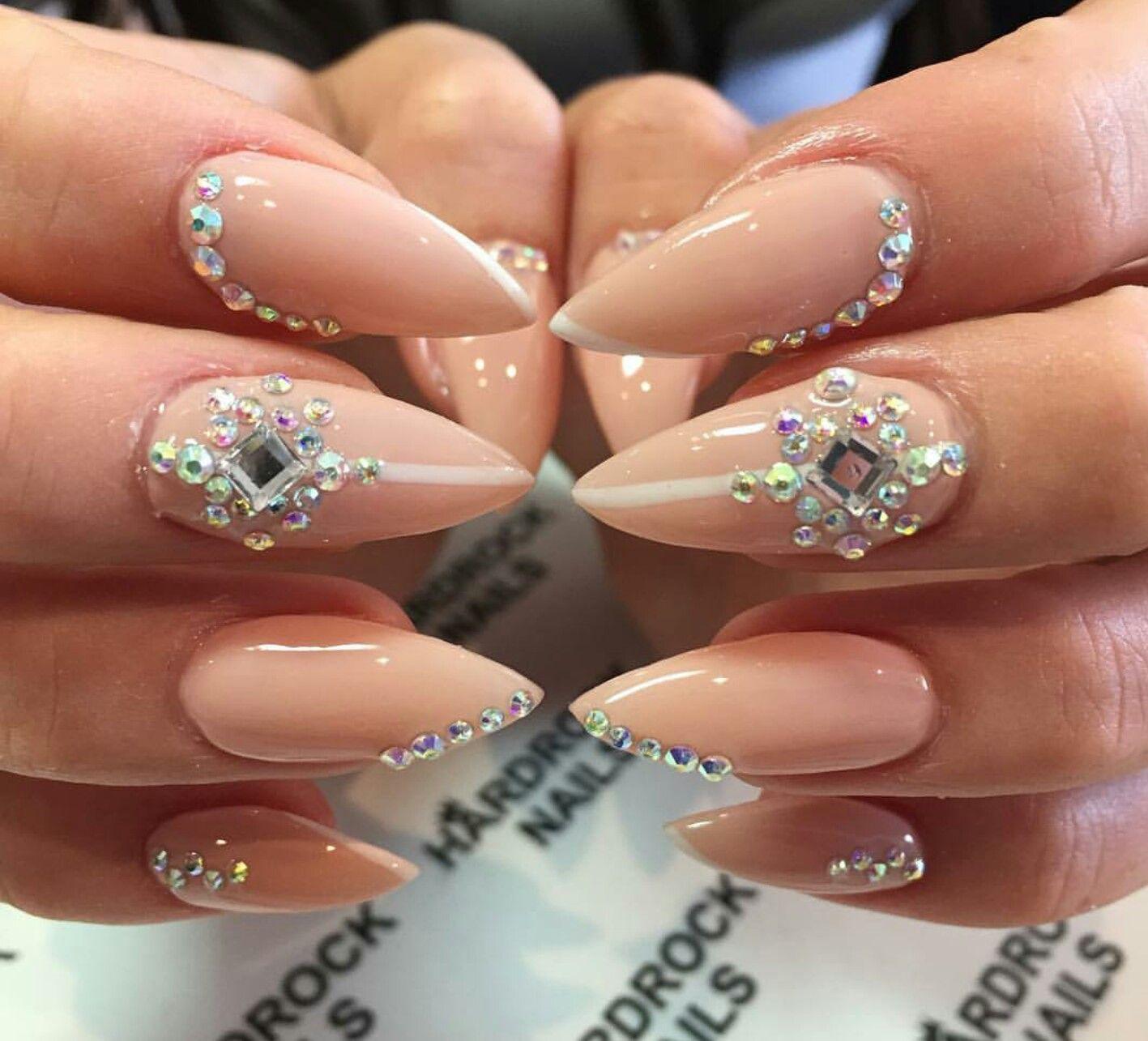 pinterest: pureher0ine | Nail | Pinterest | Nail inspo, Crystal ...