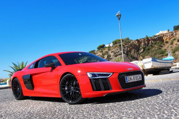 Audi R8 V10 Plus 2017 Red Audi Pinterest Audi Audi R8 And
