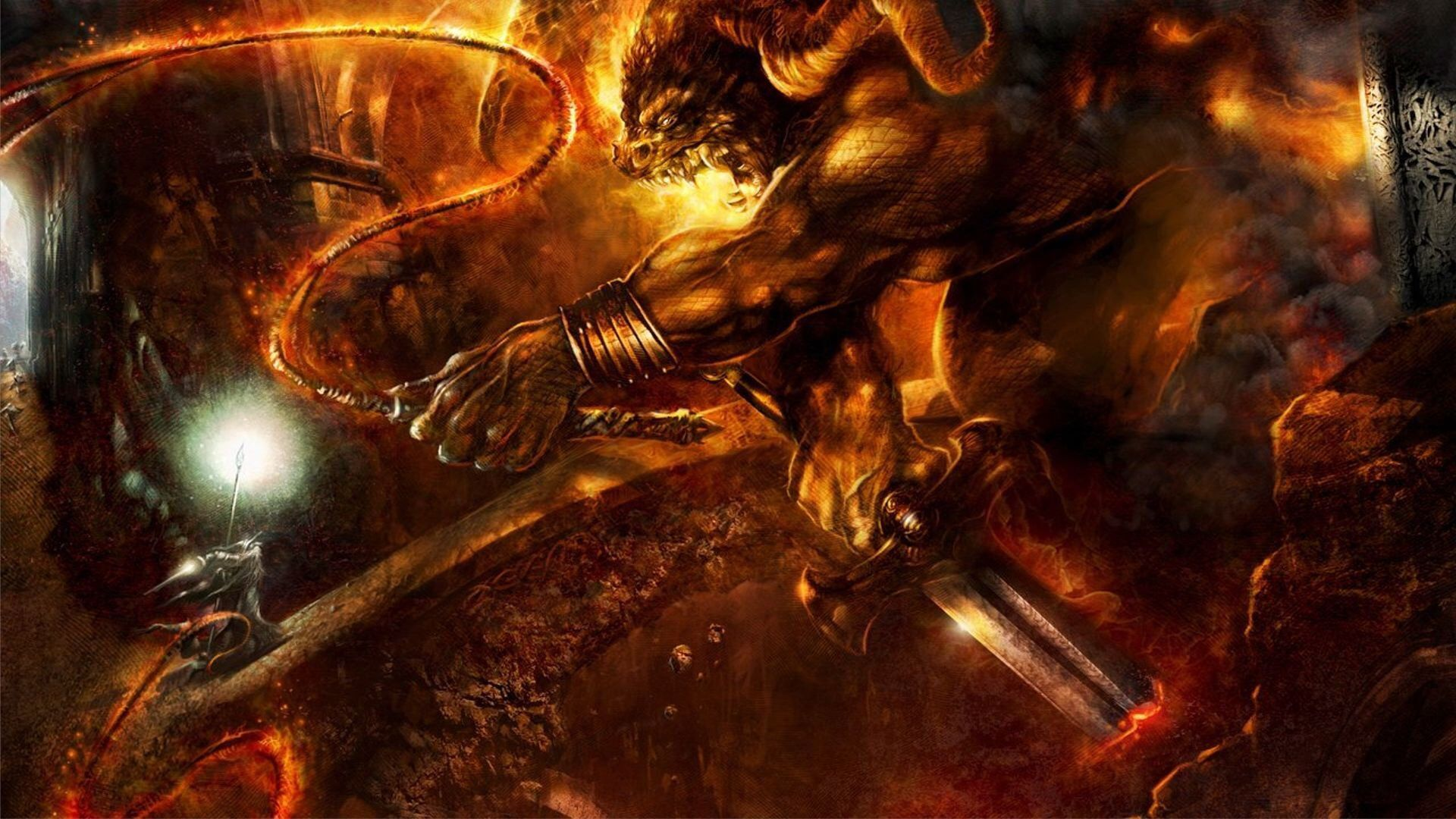 Immagine di https://www.walldevil.com/wallpapers/a81/the-lord-of-the-rings-the-fellowship-of-the-ring-gandalf-balrog-lotr.jpg.