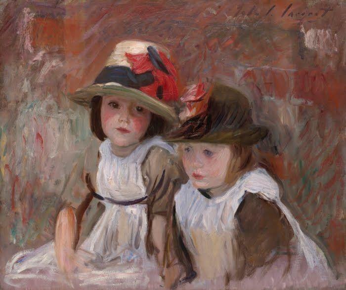 u0026 39 village children u0026 39  by john singer sargent  1890