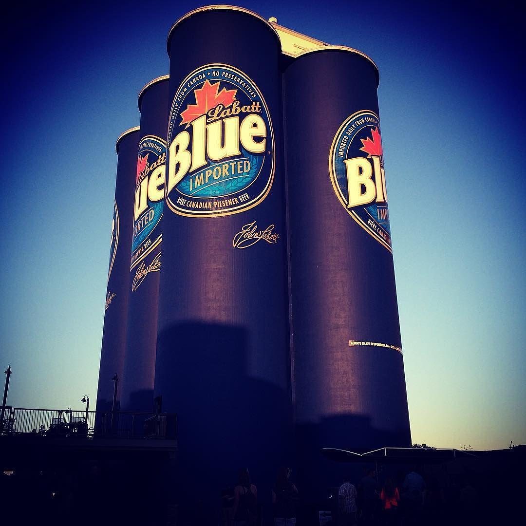 Labatt Blue Beer Silo's Buffalo NY #LABATT #labattblue #blue #bluelight #canada #canadian #canadianbeer #riverworks #buffaloriverworks #buffalove #beer #alcohol #ny #newyork #buffalo #buffalony #labatts #silo #remodeling #recycle #refurbish #import #imported #importedbeer #6pack #labattbluelight #johnlabatt #tallboy #grainsilo #hockey by leahzebrasphotos