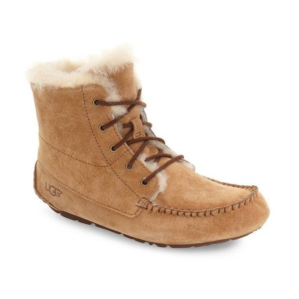 e46d9c24c11 Women's Ugg 'Chickaree' Bootie ($185) ❤ liked on Polyvore featuring ...