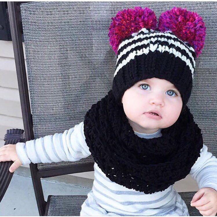 de4ac62b255 Baby girl winter hat