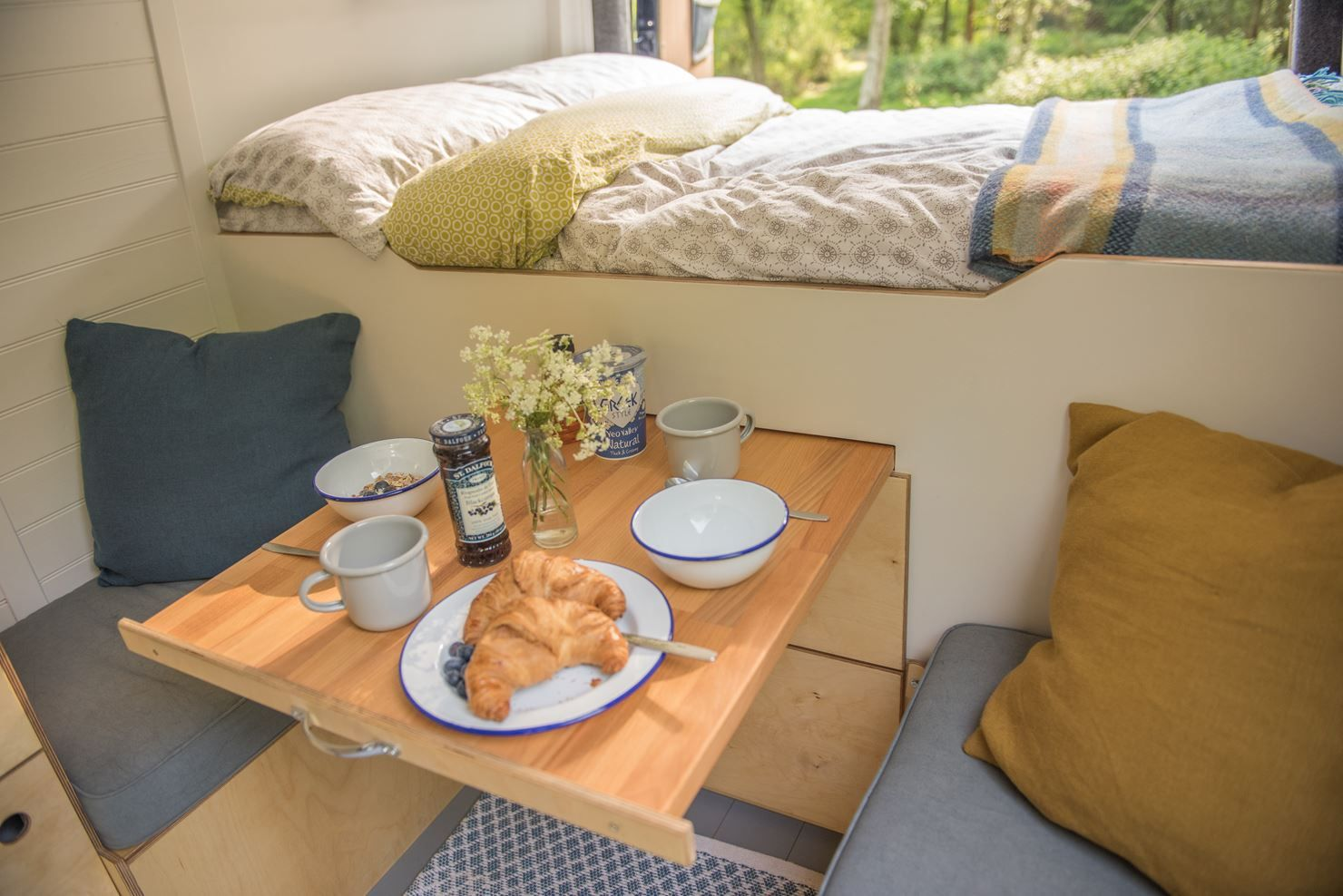 Photo of Pull out campervan table