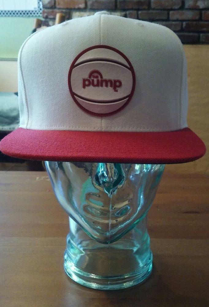 2797a5f0e75 reebok pump white red snapback hat