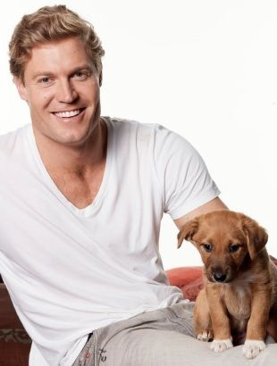 Dr. Chris Brown, vet and actor from Australia/ Not usually crazy about blondes...but he's a hottie!!