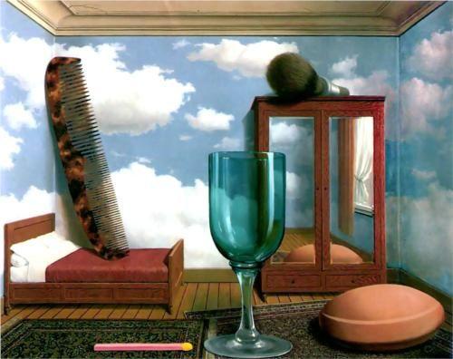 Valori personali  Rene Magritte Data di completamento: 1952 Luogo di creazione: Bruxelles, B