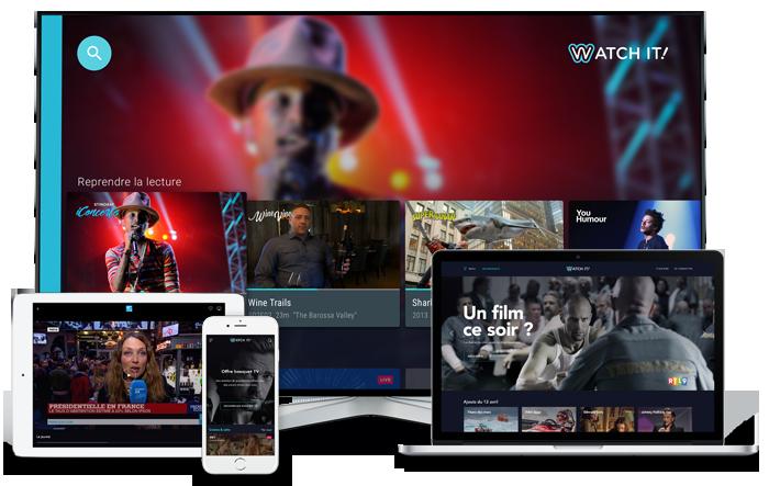 Watch It, le service qui permet de regarder la TV en
