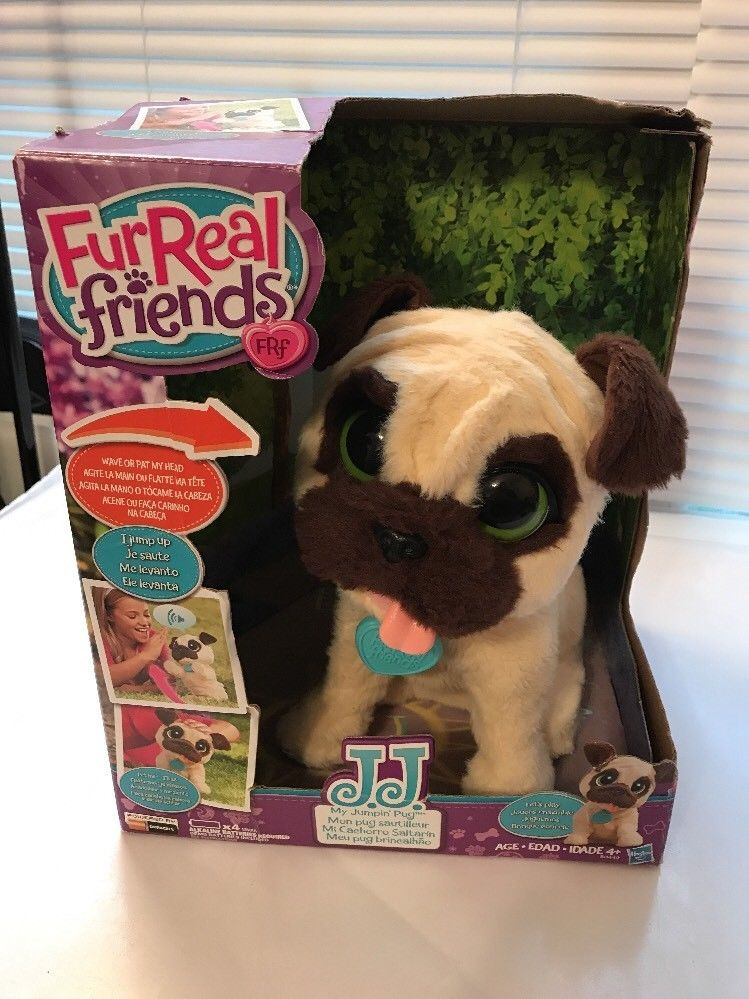 Furreal Friends Frf Jj My Jumpin Pug Pet Dog Interactive Toy Deal