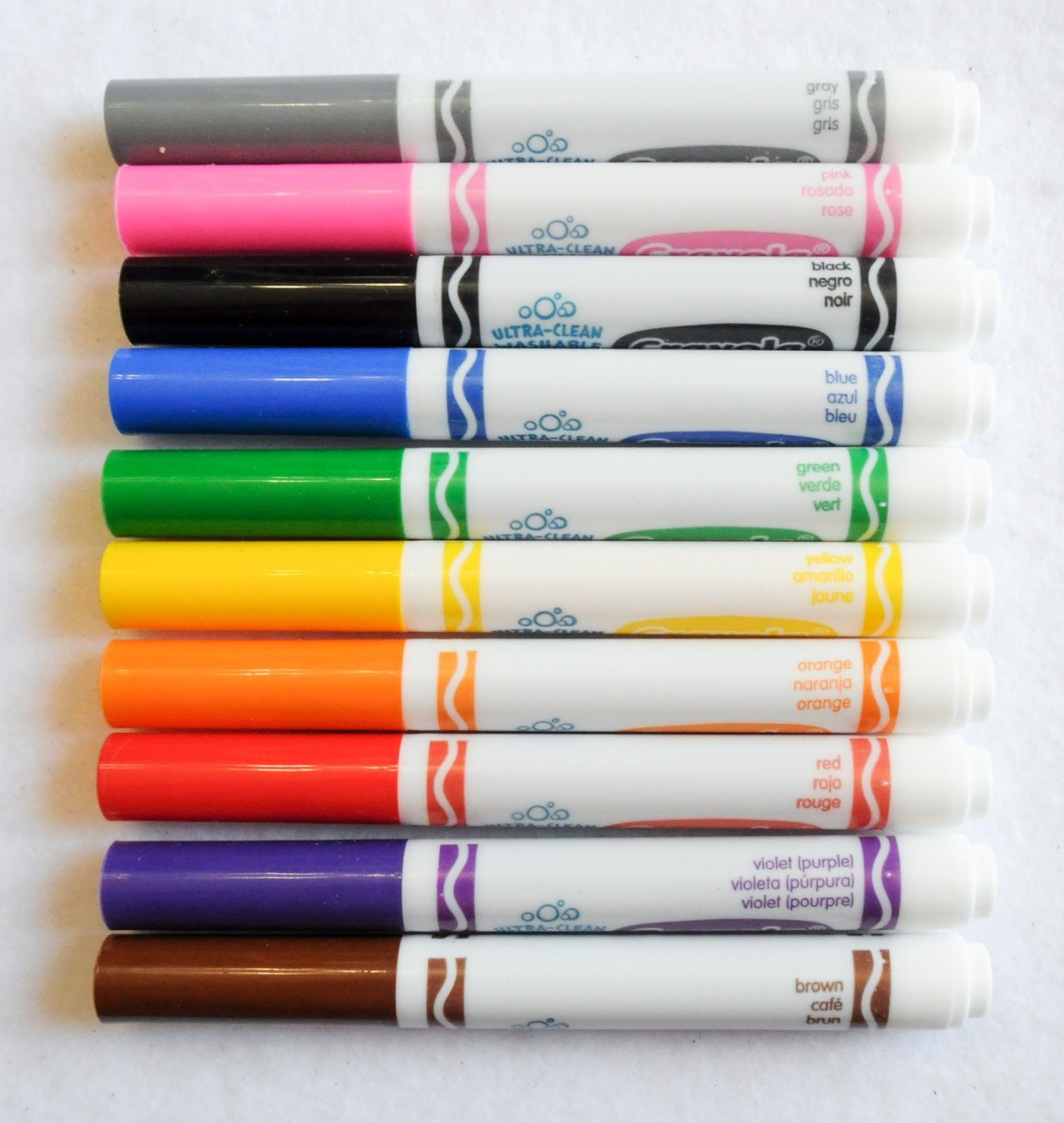 crayola ultra clean washable markers color max what s inside the
