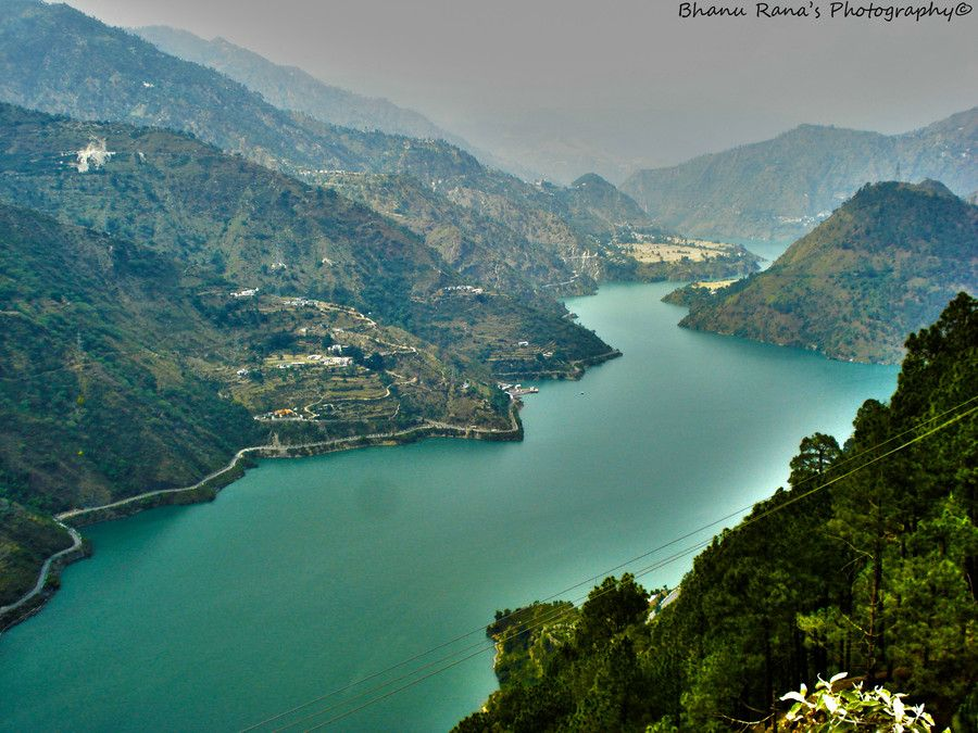 This picture is of the chamera lake which is located in