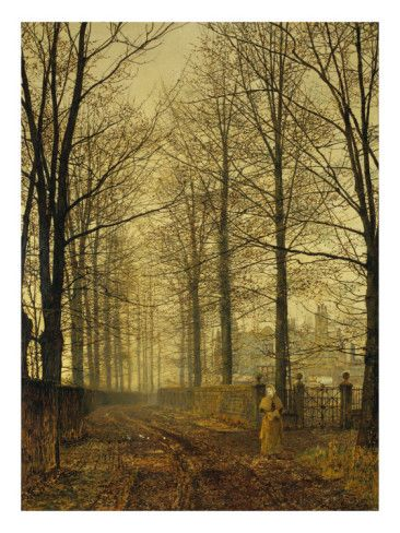 Three hundred years ago, 1892 Giclee Print, John Atkinson Grimshaw