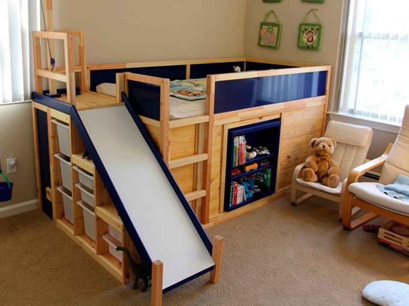13 camas originales y muy divertidas | Toboganes, Áreas de descanso ...